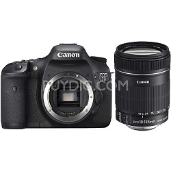 EOS 7D 18 MP CMOS Digital SLR Camera with 3-inch LCD and 18-135mm f/3.5-5.6 IS