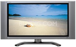 "LC-37D5U AQUOS 37"" 16:9 HD LCD Panel TV w/ built-in CableCARD slot"