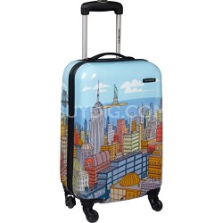 "Luggage Cityscapes 20"" Hardside Spinner Collection Expandable Wheeled Suitcase"