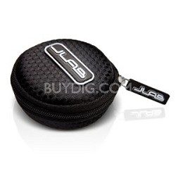 Mini Samba Premium Earbuds Travel Case for Jbuds (Black) 854291001884