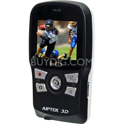 3D-HD High Definition 3D Camcorder (Black/White)
