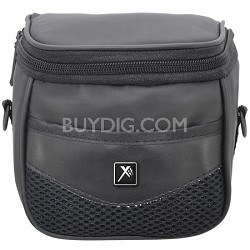 XTCC Compact Deluxe Gadget Shoulder Bag for Digital Cameras/Camcorders