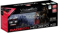 Radeon HD3870 X2  1GB DDR3 PCIe 2.0 Graphics Card