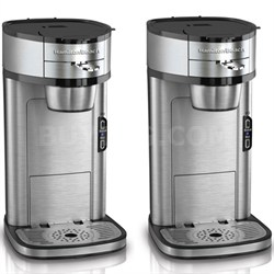 2-Pack - Scoop Single-Cup Coffee Maker - Factory Refurbished