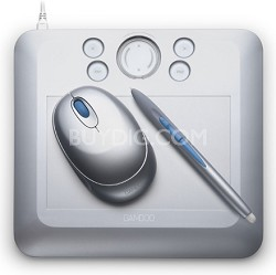 Bamboo Fun Small Silver Tablet CTE450S