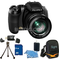 FinePix HS20 16 MP Digital Camera with EXR BSI CMOS Sensor 8GB Bundle