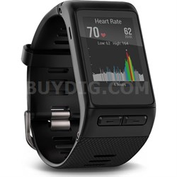 vivoactive HR GPS Smartwatch - Regular Fit - Black (010-01605-03)