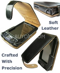 Slim Soft Leather case for Palm TX & Tungsten T5