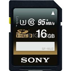 SF16UZ/TQN - 16GB SDHC Class 10 UHS-1, R95 W90 Memory Card