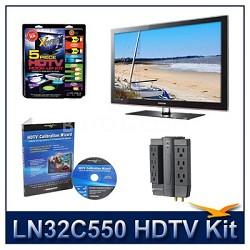 LN32C550 - HDTV + High-performance Hook-up Kit + Power Protection + Calibration