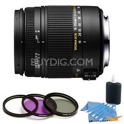 18-250mm F3.5-6.3 DC OS Macro HSM Lens for Nikon AF Kit