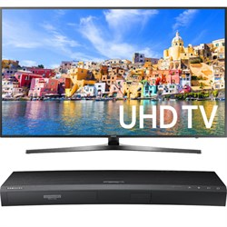"65"" Class KU7000 7-Series 4K UHD TV + Samsung UBDK8500 4K UHD Blu-Ray Player"
