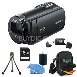 HMX-F80BN HD Flash Memory Camcorder (Black) With 16GB Memory and More
