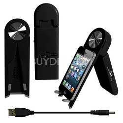 Stand Speaker for Tablets & Smartphones in Black