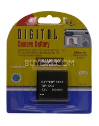 BP-1237 1300mAh Lithium Battery for Samsung Digimax L85