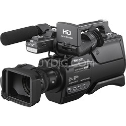 AVCHD Shoulder Mount Camcorder with 3-Inch LCD (Black) - HXR-MC2500