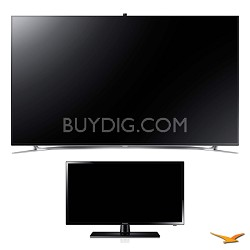 "UN75F8000 75"" 3D Ultra Slim Smart WiFi LED HDTV and 29"" LED HDTV Bundle"