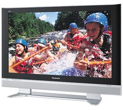 "TH-42PX50U 42"" Plasma TV w/ Built-In ATSC/QAM/NTSC Tuners and CableCard slot"