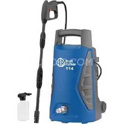 AR114 1,300 PSI 1.30 GPM Electric Hand Carry Pressure Washer