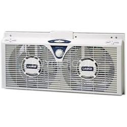 """8"""" Electrically Reversible Twin Window Fan - 2138"""