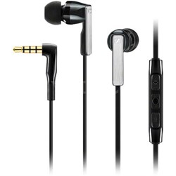 CX 5.00i Earphones with Integrated Mic for iOS - Black (506233)