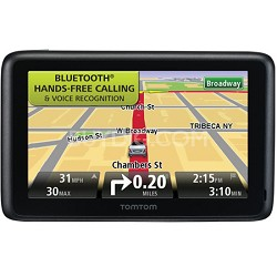 "TomTom GO 2435TM 4.3"" Portable Bluetooth GPS Navigator, Lifetime Traffic  & Maps"