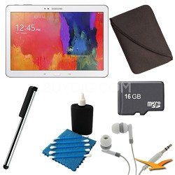 Galaxy Tab Pro 10.1 Tablet - White Deluxe Bundle