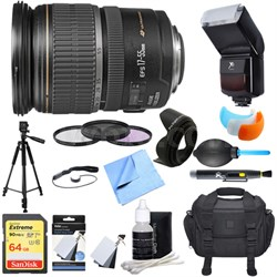 EF-S 17-55mm F/2.8 IS USM Wide Angle Zoom Lens Ultimate Accessory Bundle