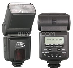 Digital Concepts 952AF TTL Power Zoom Bounce & Swivel Flash f/ Pentax & Samsung