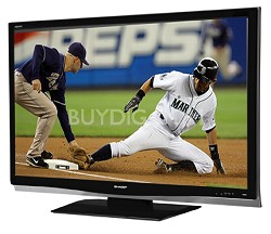 "LC-37D64U AQUOS 37"" Slim-line HD 1080p LCD Panel TV"