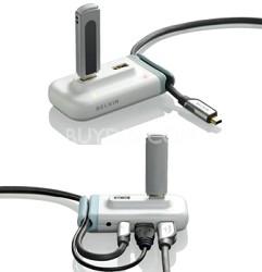 USB 2.0 4-Port HUB - White