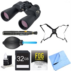 7245 10x50 Action Extreme ATB Binoculars Adventure Bundle