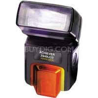 Z940 LCD POWERZOOM FLASH FOR CANON EOS CAMERAS