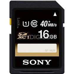16GB SDHC Class 10 UHS-1 R40 Memory Card (SF16UY/TQMN)
