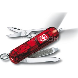 Signature Lite Pocket Knife - Ruby