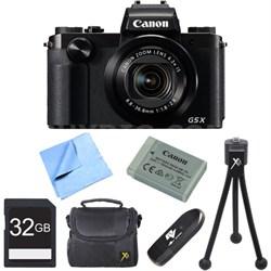 PowerShot G5 X Digital Camera with 4.2x Optical Zoom 32GB Bundle - Black