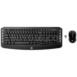 Wireless Classic Desktop Keyboard & Mouse (LV290AA#ABA) - OPEN BOX