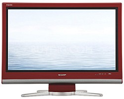 "LC-32GP3U-R AQUOS 32"" High-definition 1080p ""Video Gamers"" LCD TV (Red)"