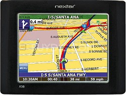 X3B Mobile GPS Navigation System w/ text-to-speech + Bluetooth