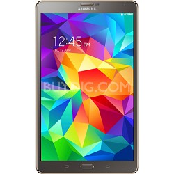 "Galaxy Tab S 8.4"" Tablet - (16GB, WiFi, Titanium Bronze) - OPEN BOX"