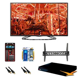 "50LA6200 50"" 1080p 3D Smart TV 120Hz Dual Core 3D Direct LED BluRay Bundle"