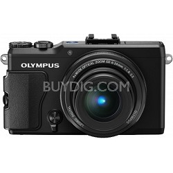 Stylus XZ-2 iHS 12MP Digital Camera w/ f1.8 Lens (Black)