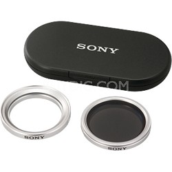 VF37CPKB - Polarizing Filter Kit Compatible with 37mm Lens Handycam Camcorder