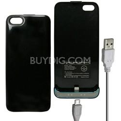 iPhone 5 Battery Case 2600mAh - Black