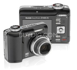 EasyShare Z1485 IS 14MP Digital Camera (Black)