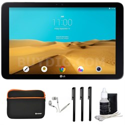 """G Pad II 10.1 16GB 10.1"""" Full HD Tablet and Case Bundle"""
