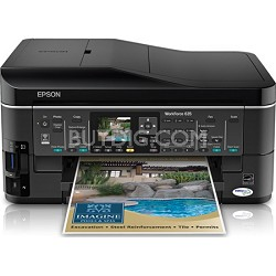 WorkForce 635 Inkjet All-in-One Wi-Fi Printer - C11CA69201