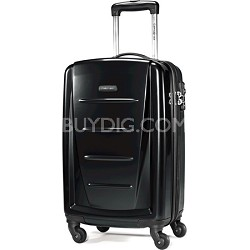 "Winfield 2 20"" Carry On Hardside Spinner Luggage (Black)"