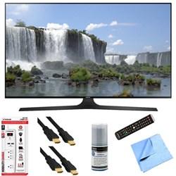 UN55J6300A - 55-Inch Full HD 1080p 120hz Slim Smart LED HDTV Plus Hook-Up Bundle