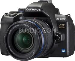 """E-620 12.3MP 2.7"""" LCD Digital SLR with 14-42mm & 40-150mm Lens Kit"""